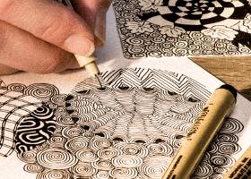 6: Tusjer, penner og blekk