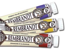 Rembrandt tube akvarell