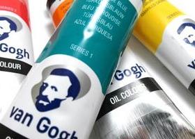 Van Gogh tube akvarell