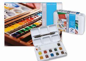 Akvarellmaling og vannfarger