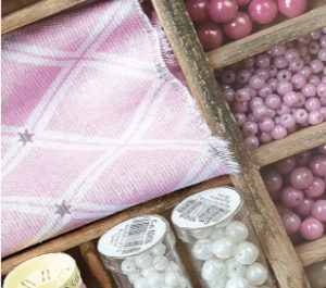 4: Gütermann Stoff, perler og tilbehør