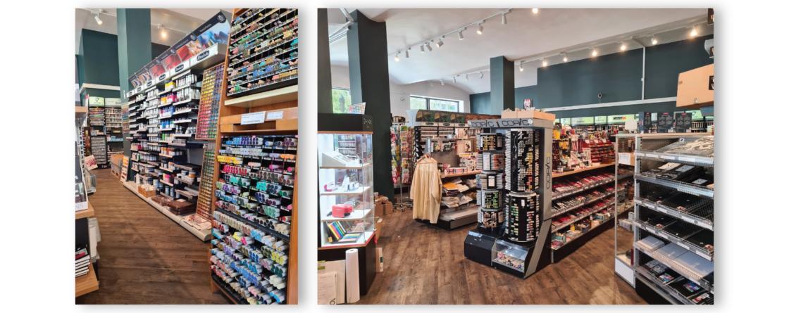Velkommen innom til vår flotte butikk!
