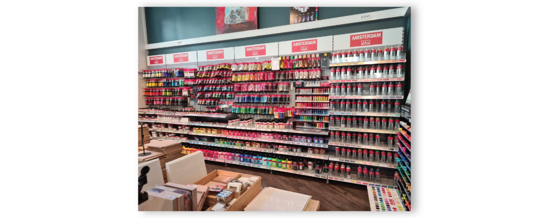 Vi har et stort utvalg av blant annet Amsterdam Akrylmaling!